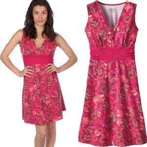 Patagonia Pink Floral Margot Dress Sleeveless